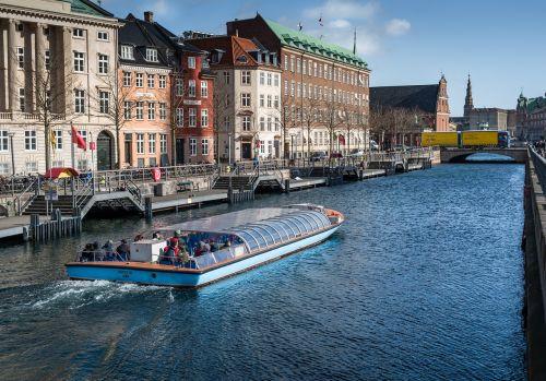 copenhagen channel boat