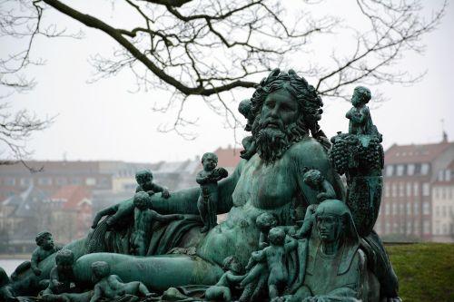 copenhagen statue sculpture