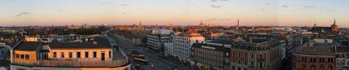 copenhagen panoramic skyline