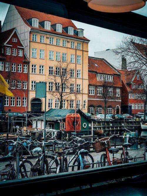 copenhagen  christianshavn  harbour