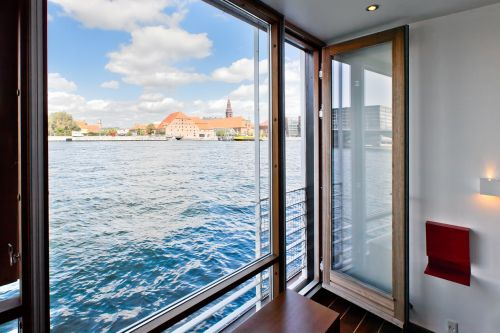 copenhagen,houseboat,port,water,blue,modern