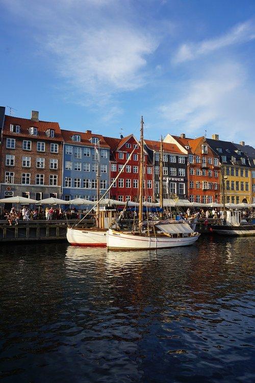 copenhagen bay  copenhagen harbour  port