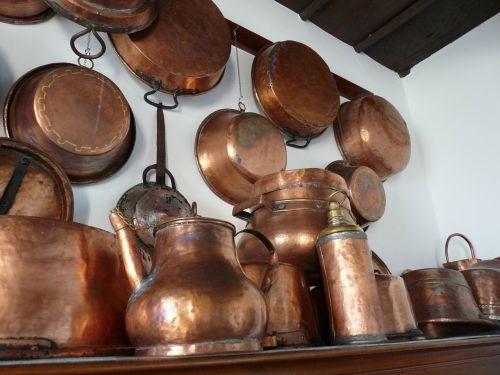 copper boiler kitchen nostalgia