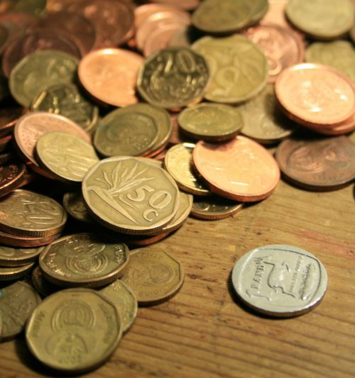 Copper Change And Silver Coin