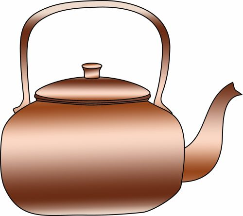 Copper Kettle Clipart