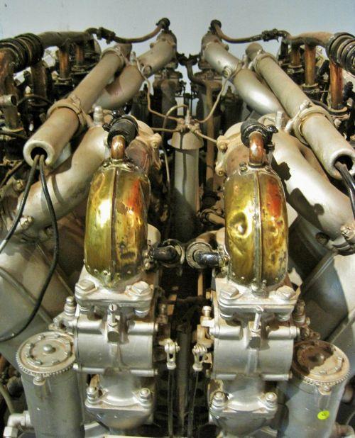 Copper Work On Rolls Royce Eagle 8