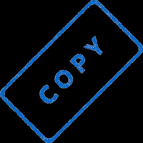 copy business document