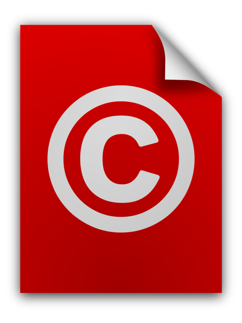 copying copyright icons