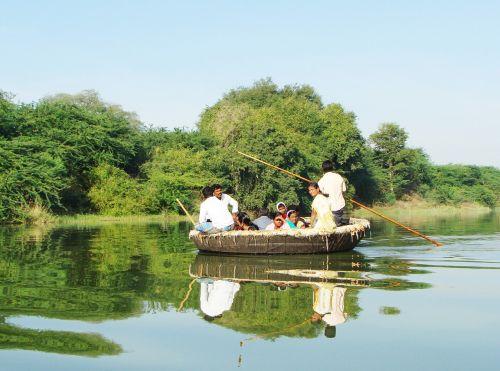 coracle ride krishna river raichur