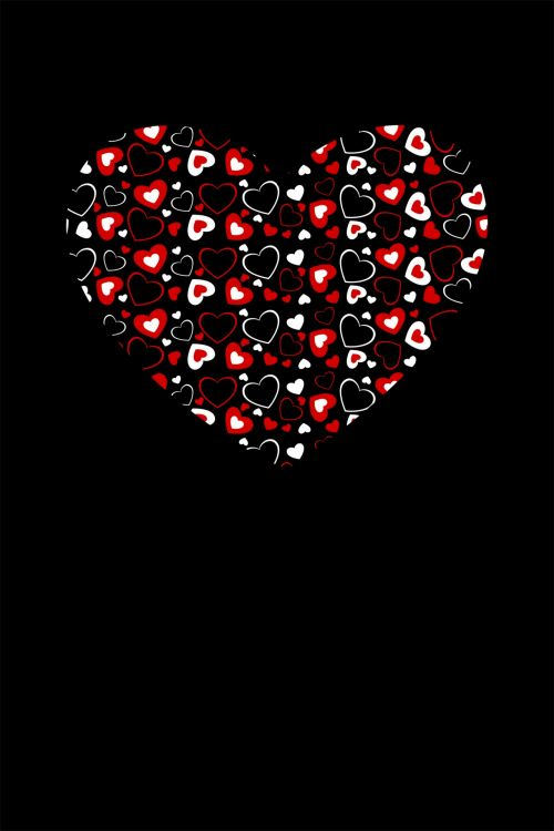 Heart With Hearts