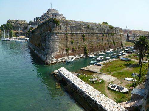 corfu corfu city port