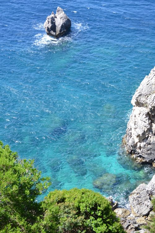 corfu greece ocean