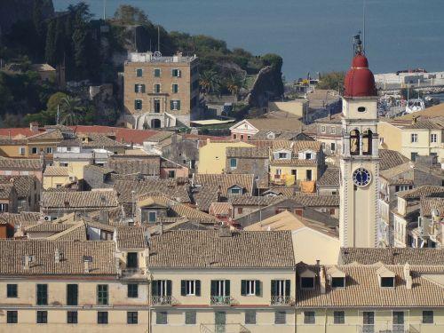 corfu corfu town kerkyra