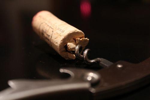 cork corkscrew wine