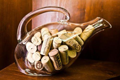 cork plugs bottle