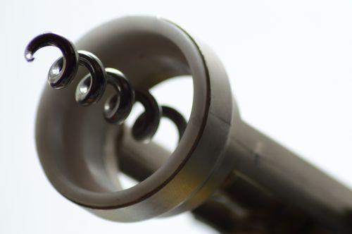 corkscrew bottle opener light