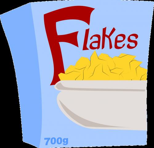 corn flakes cereals breakfast