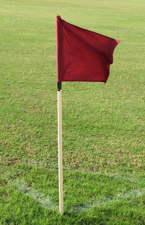 corner kick flag soccer