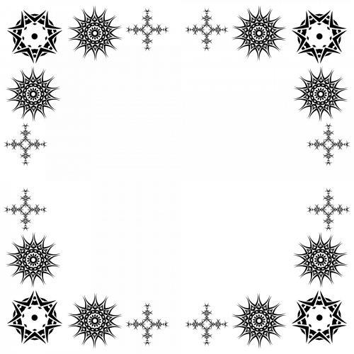 Corner Star Frame
