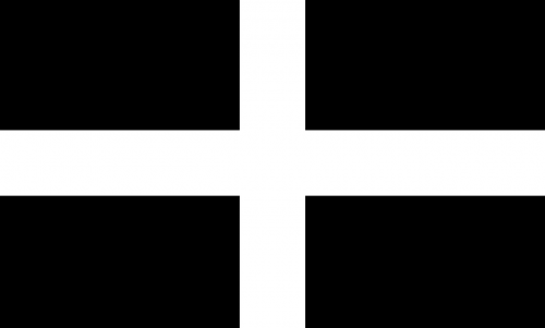 cornwall flag uk