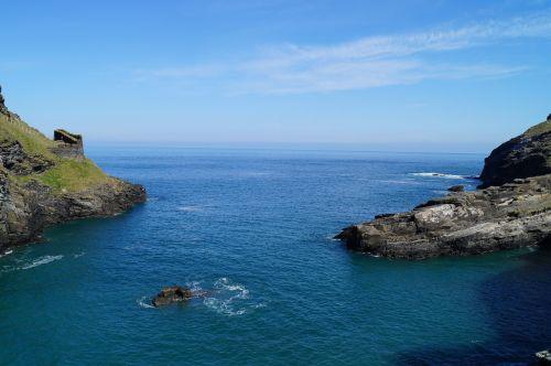 cornwall coast sea