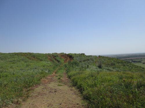 coronado heights path scenery
