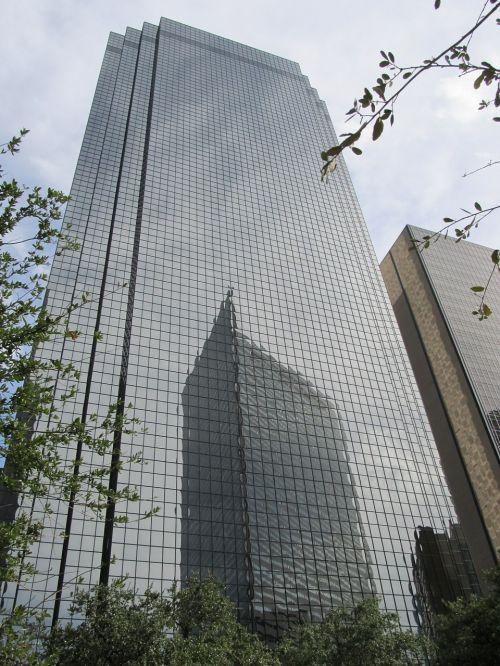 corporate skyscraper windows