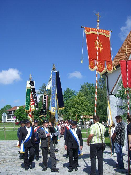 corpus christi procession flag secondments