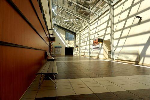 corridor light building