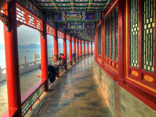 corridor beihai temple