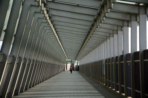 koridorius,praėjimas,kelias,vaikščioti,vaikščioti,asmuo,vienas,modelis,geometrinis