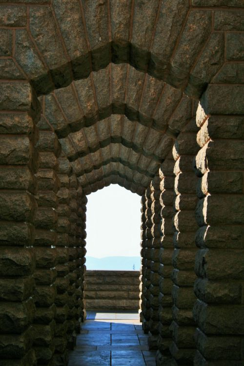 Corridor Of Arches