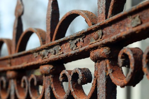 corrosion  fencing  brown