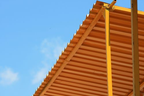 Corrugated Iron Roof Cover