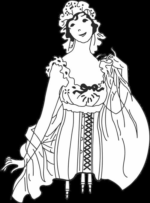 corset vintage retro