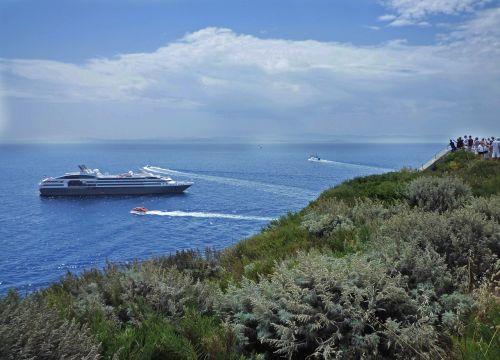 corsica sea ship