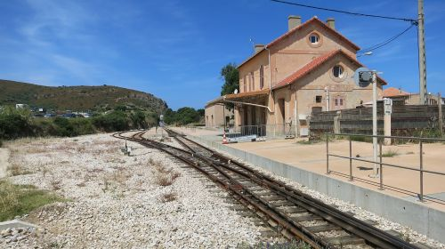 corsica railway station seemed