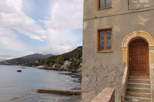 corsica erbalunga the mediterranean coast the most beautiful village of corsica