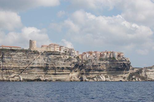 corsican bonifacio cliffs