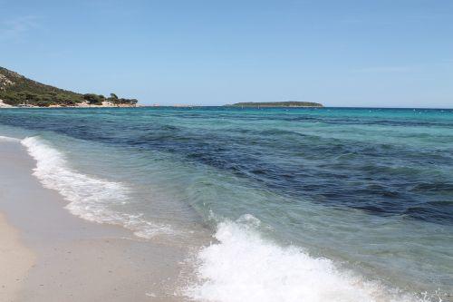 corsican beach water