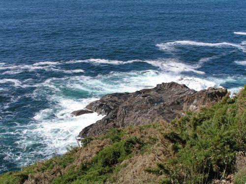 coruña españa mar