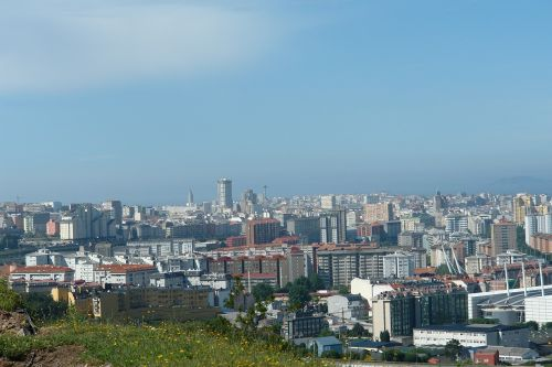 coruña city galicia