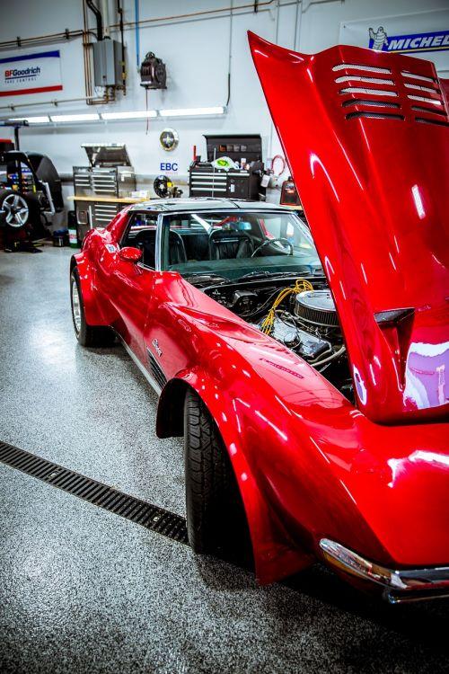 corvette classic vintage