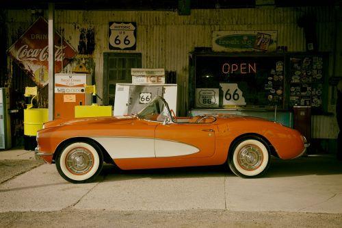 corvette car auto