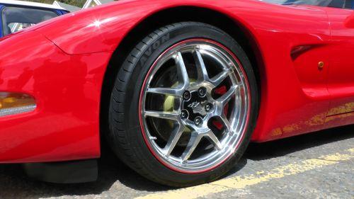 Corvette C5 Front Wheel