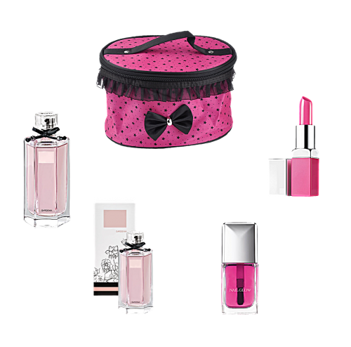 cosmetics perfume pink