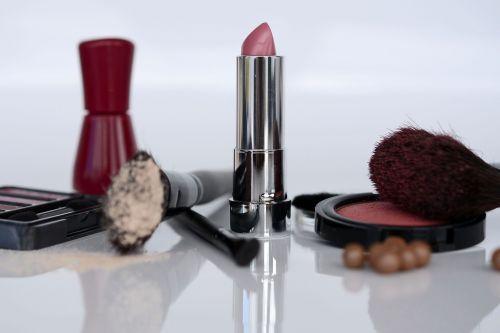 cosmetics lipstick eye shadow