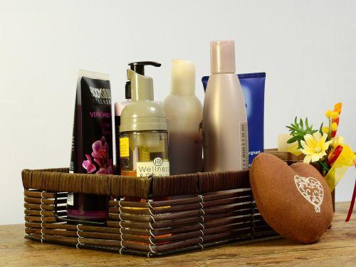cosmetics gift deco