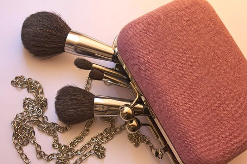 cosmetics  brush  makeup