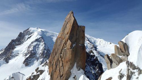 cosmiques ridge granite ridge